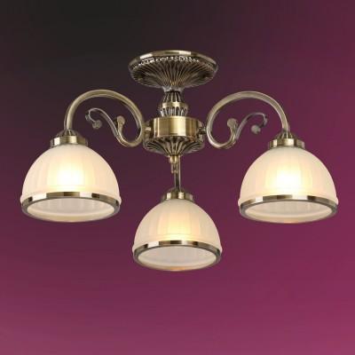 Люстра Colosseo 82502/3C LEANDRAПотолочные<br><br><br>Тип товара: Люстра<br>Тип лампы: Накаливания / энергосбережения / светодиодная<br>Тип цоколя: E27<br>Количество ламп: 3<br>MAX мощность ламп, Вт: 60<br>Диаметр, мм мм: 560<br>Высота, мм: 310<br>Цвет арматуры: бронзовый