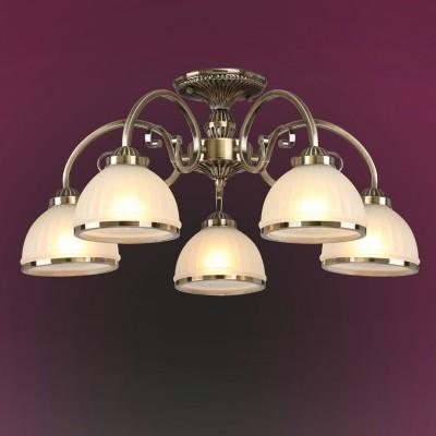 Люстра Colosseo 82502/5C LEANDRAПотолочные<br><br><br>Тип товара: Люстра<br>Тип лампы: Накаливания / энергосбережения / светодиодная<br>Тип цоколя: E27<br>Количество ламп: 5<br>MAX мощность ламп, Вт: 60<br>Диаметр, мм мм: 650<br>Высота, мм: 310<br>Цвет арматуры: бронзовый