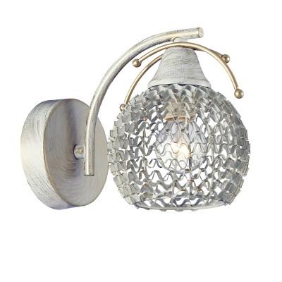Светильник бра Colosseo 82703/1W BERNABOМодерн<br><br><br>Тип товара: Светильник настенный бра<br>Тип цоколя: E14<br>Количество ламп: 1<br>MAX мощность ламп, Вт: 40<br>Диаметр, мм мм: 120<br>Высота, мм: 155<br>Цвет арматуры: бежевый