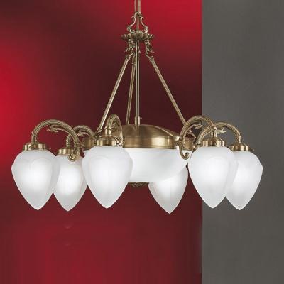 Eglo IMPERIAL 82743 ЛюстраПодвесные<br>Австрийское качество модели светильника Eglo 82743 не оставит равнодушным каждого купившего! Матовое закаленное стекло(пр-во Чехия), Корпус бронза на цепном подвесе, Класс изоляции 3 (двойная изоляция), IP 20, освещенность 4430 lm ,Н=1100D=700,6Х40W,E14/2X60W,E27.<br><br>Установка на натяжной потолок: Да<br>S освещ. до, м2: 21<br>Крепление: Крюк<br>Тип лампы: накаливания / энергосбережения / LED-светодиодная<br>Тип цоколя: E14<br>Количество ламп: 8<br>MAX мощность ламп, Вт: 40/60<br>Диаметр, мм мм: 700<br>Размеры основания, мм: 0<br>Высота, мм: 1100<br>Оттенок (цвет): белый<br>Цвет арматуры: бронзовый<br>Общая мощность, Вт: 6X40W