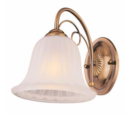 Светильник бра Colosseo 82803/1W GIONATAКлассика<br><br><br>Тип товара: Светильник бра<br>Тип цоколя: E27<br>Количество ламп: 1<br>Цвет арматуры: бронзовый