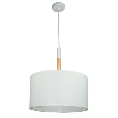 Подвесной светильник Colosseo 82806/1A ALESSANDROОдиночные<br><br><br>Тип товара: Подвесной светильник<br>Тип цоколя: E27<br>Количество ламп: 1<br>MAX мощность ламп, Вт: 60<br>Цвет арматуры: белый