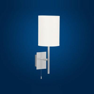 Eglo SENDO 82809 Настенно-потолочный светильникМодерн<br><br><br>S освещ. до, м2: 4<br>Тип товара: Настенно-потолочный светильник<br>Тип лампы: накаливания / энергосбережения / LED-светодиодная<br>Тип цоколя: E14<br>Количество ламп: 1<br>MAX мощность ламп, Вт: 2<br>Размеры основания, мм: 0<br>Длина, мм: 120<br>Расстояние от стены, мм: 150<br>Высота, мм: 330<br>Оттенок (цвет): бежевый<br>Цвет арматуры: серый<br>Общая мощность, Вт: 1X60W