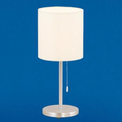 Eglo SENDO 82811 Настольная лампаСовременные<br>Настольная лампа – это не просто источник дополнительного освещения, но и оригинальный элемент декора. Его можно установить в спальне, гостиной, кабинете и других комнатах. Интернет-магазин «Светодом» предлагает настольные лампы разных стилей по доступным ценам. Благодаря большому ассортименту Вы обязательно найдете в нашем каталоге именно ту модель, которую искали.   Настольная лампа Eglo 82811 – прекрасный вариант для завершения интерьера. Ее можно включить одновременно с люстрой для более яркого освещения или без нее для создания уютной атмосферы, настраивающей на отдых.   Купить настольную лампу Eglo 82811 Вы можете с помощью виртуальной «Корзины» или по контактным номерам, указанным на сайте.<br><br>S освещ. до, м2: 4<br>Тип лампы: накаливания / энергосбережения / LED-светодиодная<br>Тип цоколя: E27<br>Цвет арматуры: серый<br>Количество ламп: 1<br>Диаметр, мм мм: 160<br>Размеры основания, мм: 155<br>Высота, мм: 375<br>Оттенок (цвет): бежевый<br>MAX мощность ламп, Вт: 7<br>Общая мощность, Вт: 1X60W