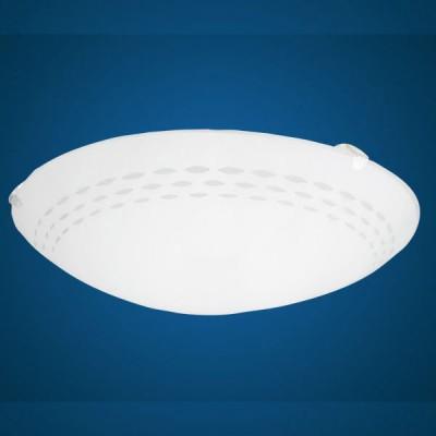 Eglo TWISTER 82893 Настенно-потолочный светильникКруглые<br>Австрийское качество модели светильника Eglo 82893 не оставит равнодушным каждого купившего! Матовое закаленное стекло(пр-во Чехия) вытравленный рисунок , основание сталь с защитным покрытием. Класс изоляции 2 (двойная изоляция), IP 20, освещенность 806 lm ,D=250,1X60W,E27.<br><br>S освещ. до, м2: 4<br>Тип лампы: накаливания / энергосбережения / LED-светодиодная<br>Тип цоколя: E27<br>Количество ламп: 1<br>MAX мощность ламп, Вт: 2<br>Диаметр, мм мм: 250<br>Размеры основания, мм: 0<br>Оттенок (цвет): дизайн линии<br>Цвет арматуры: белый<br>Общая мощность, Вт: 1X60W