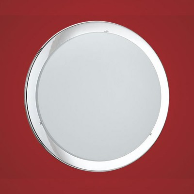Eglo PLANET 82944 Настенно-потолочный светильниккруглые светильники<br>Настенно потолочный светильник Eglo (Эгло) 82944 подходит как для установки в вертикальном положении - на стены, так и для установки в горизонтальном - на потолок. Для установки настенно потолочных светильников на натяжной потолок необходимо использовать светодиодные лампы LED, которые экономнее ламп Ильича (накаливания) в 10 раз, выделяют мало тепла и не дадут расплавиться Вашему потолку.<br><br>S освещ. до, м2: 4<br>Тип лампы: накаливания / энергосбережения / LED-светодиодная<br>Тип цоколя: E27<br>Цвет арматуры: серебристый<br>Количество ламп: 1<br>Диаметр, мм мм: 370<br>Размеры основания, мм: 0<br>Оттенок (цвет): белый, прозрачный<br>MAX мощность ламп, Вт: 2<br>Общая мощность, Вт: 2X60W