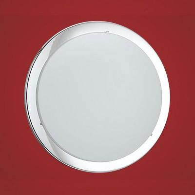 Eglo PLANET 82945 Настенно-потолочный светильникКруглые<br>Настенно потолочный светильник Eglo (Эгло) 82945 подходит как для установки в вертикальном положении - на стены, так и для установки в горизонтальном - на потолок. Для установки настенно потолочных светильников на натяжной потолок необходимо использовать светодиодные лампы LED, которые экономнее ламп Ильича (накаливания) в 10 раз, выделяют мало тепла и не дадут расплавиться Вашему потолку.<br><br>S освещ. до, м2: 6<br>Тип лампы: накаливания / энергосбережения / LED-светодиодная<br>Тип цоколя: E27<br>Количество ламп: 1<br>MAX мощность ламп, Вт: 2<br>Диаметр, мм мм: 290<br>Размеры основания, мм: 0<br>Расстояние от стены, мм: 85<br>Оттенок (цвет): белый, прозрачный<br>Цвет арматуры: серебристый<br>Общая мощность, Вт: 1X60W
