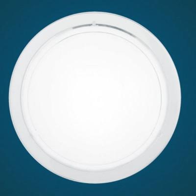 Eglo PLANET 1 83153 Настенно-потолочный светильникКруглые<br>Настенно потолочный светильник Eglo (Эгло) 83153 подходит как для установки в вертикальном положении - на стены, так и для установки в горизонтальном - на потолок. Для установки настенно потолочных светильников на натяжной потолок необходимо использовать светодиодные лампы LED, которые экономнее ламп Ильича (накаливания) в 10 раз, выделяют мало тепла и не дадут расплавиться Вашему потолку.<br><br>S освещ. до, м2: 6<br>Тип лампы: накаливания / энергосбережения / LED-светодиодная<br>Тип цоколя: E27<br>Цвет арматуры: белый<br>Количество ламп: 1<br>Диаметр, мм мм: 290<br>Размеры основания, мм: 0<br>Расстояние от стены, мм: 85<br>Оттенок (цвет): белый, прозрачный<br>MAX мощность ламп, Вт: 2<br>Общая мощность, Вт: 1X60W