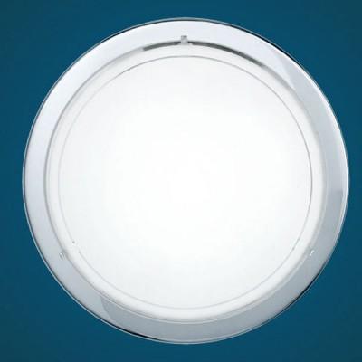Eglo PLANET 1 83155 Настенно-потолочный светильникКруглые<br>Настенно потолочный светильник Eglo (Эгло) 83155 подходит как для установки в вертикальном положении - на стены, так и для установки в горизонтальном - на потолок. Для установки настенно потолочных светильников на натяжной потолок необходимо использовать светодиодные лампы LED, которые экономнее ламп Ильича (накаливания) в 10 раз, выделяют мало тепла и не дадут расплавиться Вашему потолку.<br><br>S освещ. до, м2: 6<br>Тип лампы: накаливания / энергосбережения / LED-светодиодная<br>Тип цоколя: E27<br>Цвет арматуры: серебристый<br>Количество ламп: 1<br>Диаметр, мм мм: 290<br>Размеры основания, мм: 0<br>Расстояние от стены, мм: 85<br>Оттенок (цвет): белый, прозрачный<br>MAX мощность ламп, Вт: 2<br>Общая мощность, Вт: 1X60W