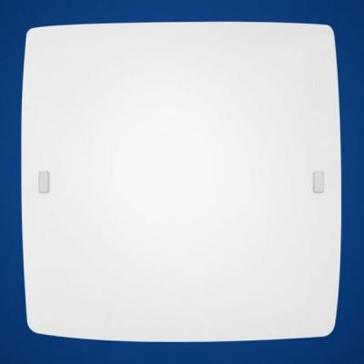 Eglo BORGO 83243 Настенно-потолочные светильникиКвадратные<br>Австрийское качество модели светильника Eglo 83243 не оставит равнодушным каждого купившего! Матовое закаленное стекло(пр-во Чехия), Хромированный корпус, Класс изоляции 2 (двойная изоляция), IP 20, Экологически безопасные технологии.,L=410Н=410,2X60W,E27.<br><br>S освещ. до, м2: 8<br>Тип лампы: накаливания / энергосбережения / LED-светодиодная<br>Тип цоколя: E27<br>Количество ламп: 2<br>MAX мощность ламп, Вт: 2<br>Размеры основания, мм: 0<br>Длина, мм: 410<br>Расстояние от стены, мм: 100<br>Высота, мм: 410<br>Оттенок (цвет): белый<br>Цвет арматуры: белый<br>Общая мощность, Вт: 2X60W