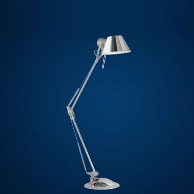Eglo OFFICE 83249 Офисная настольная лампаНа струбцине<br>Настольная лампа – это не просто источник дополнительного освещения, но и оригинальный элемент декора. Его можно установить в спальне, гостиной, кабинете и других комнатах. Интернет-магазин «Светодом» предлагает настольные лампы разных стилей по доступным ценам. Благодаря большому ассортименту Вы обязательно найдете в нашем каталоге именно ту модель, которую искали.   Настольная лампа Eglo 83249 – прекрасный вариант для завершения интерьера. Ее можно включить одновременно с люстрой для более яркого освещения или без нее для создания уютной атмосферы, настраивающей на отдых.   Купить настольную лампу Eglo 83249 Вы можете с помощью виртуальной «Корзины» или по контактным номерам, указанным на сайте.<br><br>S освещ. до, м2: 4<br>Тип лампы: галогенная / LED-светодиодная<br>Тип цоколя: E27<br>Количество ламп: 1<br>MAX мощность ламп, Вт: 2<br>Размеры основания, мм: 195<br>Длина, мм: 820<br>Цвет арматуры: серебристый<br>Общая мощность, Вт: 1X60W