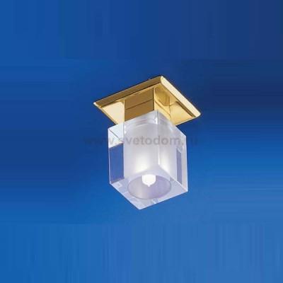 Eglo Spike 1 83797 светильник встраиваемыйКвадратные<br>снято с производства<br><br>S освещ. до, м2: 2<br>Тип лампы: галогенная<br>Тип цоколя: G9<br>Цвет арматуры: Золотой<br>Количество ламп: 1<br>Ширина, мм: 80<br>Расстояние от стены, мм: 80<br>Высота, мм: 85<br>MAX мощность ламп, Вт: 40