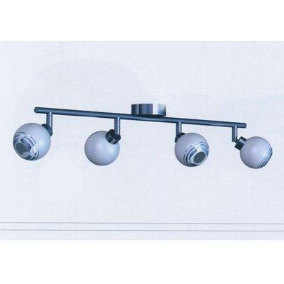 Светильник Brilliant G84331/75 FerryС 4 лампами<br>Зачастую мы ищем идеальное освещение для своего дома и уделяем этому достаточно много времени. Так, например, если нам нужен светильник с количеством ламп - 4 и цвет плафонов должен быть - белый с хромированной каймой, а материал плафонов только стекло! То нам, как вариант, подойдет модель - система спотов Brilliant G84331/75.<br><br>S освещ. до, м2: 7<br>Тип лампы: галогенная / LED-светодиодная<br>Тип цоколя: G9<br>Цвет арматуры: серебристый<br>Количество ламп: 4<br>Ширина, мм: 410<br>Выступ, мм: 160<br>Длина, мм: 410<br>MAX мощность ламп, Вт: 28