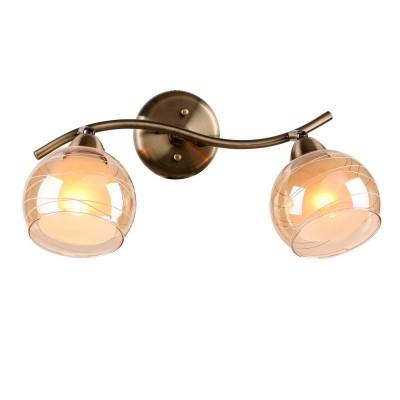 Светильник Idlamp 844/2PF-Oldbronze Liaдвойные светильники споты<br>Светильники-споты – это оригинальные изделия с современным дизайном. Они позволяют не ограничивать свою фантазию при выборе освещения для интерьера. Такие модели обеспечивают достаточно качественный свет. Благодаря компактным размерам Вы можете использовать несколько спотов для одного помещения.  Интернет-магазин «Светодом» предлагает необычный светильник-спот IDLamp 844/2PF-Oldbronze по привлекательной цене. Эта модель станет отличным дополнением к люстре, выполненной в том же стиле. Перед оформлением заказа изучите характеристики изделия.  Купить светильник-спот IDLamp 844/2PF-Oldbronze в нашем онлайн-магазине Вы можете либо с помощью формы на сайте, либо по указанным выше телефонам. Обратите внимание, что у нас склады не только в Москве и Екатеринбурге, но и других городах России.<br><br>S освещ. до, м2: 6<br>Крепление: Настенные<br>Тип лампы: Накаливания / энергосбережения / светодиодная<br>Тип цоколя: E27<br>Цвет арматуры: бронзовый<br>Количество ламп: 2<br>Ширина, мм: 220<br>Длина, мм: 400<br>Высота, мм: 250<br>MAX мощность ламп, Вт: 60