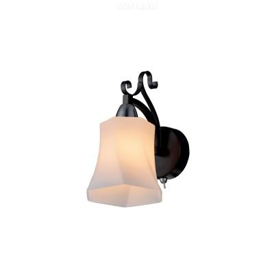 Светильник настенный бра Idlamp 849/1A-Dark MongaМодерн<br><br><br>Крепление: Настенные<br>Тип товара: Светильник настенный бра<br>Скидка, %: 32<br>Тип лампы: Накаливания / энергосбережения / светодиодная<br>Тип цоколя: E14<br>Количество ламп: 1<br>Ширина, мм: 170<br>MAX мощность ламп, Вт: 40<br>Длина, мм: 90<br>Высота, мм: 200<br>Цвет арматуры: черный