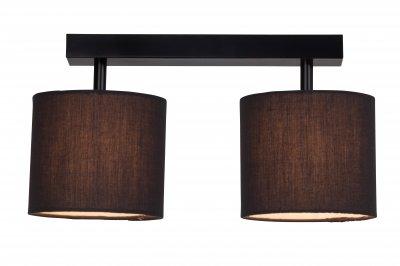Светильник Brilliant G85029/06 SandraПотолочные<br><br><br>Установка на натяжной потолок: Да<br>S освещ. до, м2: 4<br>Крепление: Планка<br>Тип товара: Светильник поворотный спот<br>Тип лампы: галогенная / LED-светодиодная<br>Тип цоколя: G9<br>Количество ламп: 2<br>Ширина, мм: 270<br>MAX мощность ламп, Вт: 40<br>Высота, мм: 345