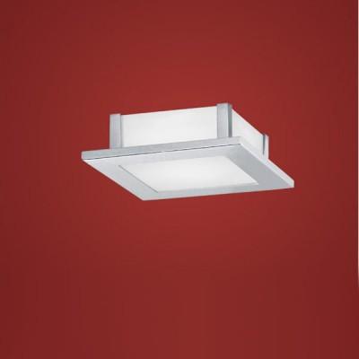 Eglo AURIGA 85092 Настенно-потолочные светильникиКвадратные<br>Австрийское качество модели светильника Eglo 85092 не оставит равнодушным каждого купившего! Матовое закаленное стекло(пр-во Чехия) на 5 сторонах светильника, Хромированный корпус, Класс изоляции 3 (двойная изоляция), IP 20, Экологически безопасные технологии.,L=210B=210Н=65,1X42W,R7S.<br><br>S освещ. до, м2: 6<br>Тип лампы: галогенная / LED-светодиодная<br>Тип цоколя: R7S<br>Количество ламп: 1<br>Ширина, мм: 210<br>MAX мощность ламп, Вт: 2<br>Размеры основания, мм: 0<br>Длина, мм: 210<br>Высота, мм: 65<br>Оттенок (цвет): белый<br>Цвет арматуры: серебристый<br>Общая мощность, Вт: 1X42W