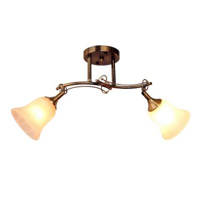 Светильник Idlamp 851/2PF-Oldbronze PaolinaДвойные<br>Светильники-споты – это оригинальные изделия с современным дизайном. Они позволяют не ограничивать свою фантазию при выборе освещения для интерьера. Такие модели обеспечивают достаточно качественный свет. Благодаря компактным размерам Вы можете использовать несколько спотов для одного помещения.  Интернет-магазин «Светодом» предлагает необычный светильник-спот IDLamp 851/2PF-Oldbronze по привлекательной цене. Эта модель станет отличным дополнением к люстре, выполненной в том же стиле. Перед оформлением заказа изучите характеристики изделия.  Купить светильник-спот IDLamp 851/2PF-Oldbronze в нашем онлайн-магазине Вы можете либо с помощью формы на сайте, либо по указанным выше телефонам. Обратите внимание, что у нас склады не только в Москве и Екатеринбурге, но и других городах России.<br><br>S освещ. до, м2: 6<br>Крепление: Потолочные<br>Тип лампы: Накаливания / энергосбережения / светодиодная<br>Тип цоколя: E27<br>Цвет арматуры: бронзовый<br>Количество ламп: 2<br>Ширина, мм: 220<br>Длина, мм: 550<br>Высота, мм: 280<br>MAX мощность ламп, Вт: 60