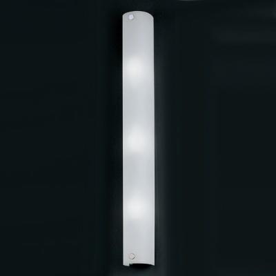 Eglo MONO 85339 светильник для ванной комнаты и зеркалДлинные<br>Австрийское качество модели светильника Eglo 85339 не оставит равнодушным каждого купившего! Основание из литого алюминия, прорезиненные и силиконовые уплотнители, защита от коррозии металлов, термостойкое стекло, температурный режим использования от -25 до +80, выключатель на корпусе.<br><br>S освещ. до, м2: 8<br>Тип лампы: накаливания / энергосбережения / LED-светодиодная<br>Тип цоколя: E14<br>Количество ламп: 3<br>Ширина, мм: 70<br>MAX мощность ламп, Вт: 2<br>Размеры основания, мм: 0<br>Длина, мм: 590<br>Расстояние от стены, мм: 65<br>Оттенок (цвет): белый<br>Цвет арматуры: серебристый<br>Общая мощность, Вт: 3X40W