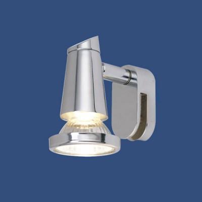 Eglo STICKER 85825 светильник для ванной комнаты и зеркалДля картин/зеркал<br>Австрийское качество модели светильника Eglo 85825 не оставит равнодушным каждого купившего! Основание из литого алюминия, прорезиненные и силиконовые уплотнители, защита от коррозии металлов, термостойкое стекло, температурный режим использования от -25 до +80, выключатель на корпусе.<br><br>S освещ. до, м2: 3<br>Тип лампы: галогенная / LED-светодиодная<br>Тип цоколя: GU10<br>Количество ламп: 1<br>MAX мощность ламп, Вт: 2<br>Размеры основания, мм: 0<br>Длина, мм: 55<br>Расстояние от стены, мм: 75<br>Высота, мм: 95<br>Цвет арматуры: серебристый<br>Общая мощность, Вт: 1X50W