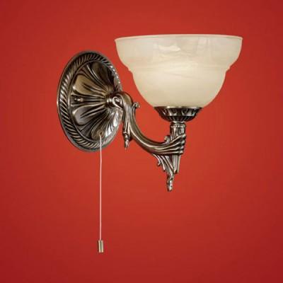 Eglo MARBELLA 85859 Светильник настенный браКлассические<br>Австрийское качество модели светильника Eglo 85859 не оставит равнодушным каждого купившего! Закаленное алебастровое стекло(пр-во Чехия), Корпус бронза, шнурковый выключатель, Класс изоляции 3 (двойная изоляция), IP 20, освещенность 470 lm ,Н=200Д=230,1X40W,E14.<br><br>S освещ. до, м2: 2<br>Тип лампы: накаливания / энергосбережения / LED-светодиодная<br>Тип цоколя: E14<br>Количество ламп: 1<br>MAX мощность ламп, Вт: 2<br>Размеры основания, мм: 0<br>Длина, мм: 170<br>Расстояние от стены, мм: 230<br>Высота, мм: 200<br>Оттенок (цвет): шампань<br>Цвет арматуры: бронзовый<br>Общая мощность, Вт: 1X40W