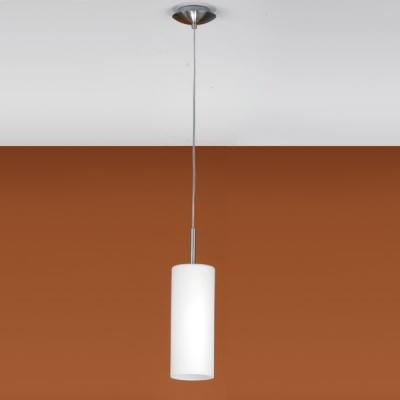 Eglo TROY 3 85977 Светильник подвеснойОдиночные<br>Австрийское качество модели светильника Eglo 85977 не оставит равнодушным каждого купившего! Матовое закаленное стекло(пр-во Чехия), Никелированный корпус, Класс изоляции 2 (двойная изоляция), IP 20, освещенность 806 lm ,Н=1100D=105,1X60W,E27.<br><br>S освещ. до, м2: 6<br>Тип лампы: накаливания / энергосбережения / LED-светодиодная<br>Тип цоколя: E27<br>Количество ламп: 1<br>MAX мощность ламп, Вт: 2<br>Диаметр, мм мм: 105<br>Размеры основания, мм: 120<br>Высота, мм: 1100<br>Оттенок (цвет): белое покрытие<br>Цвет арматуры: серый<br>Общая мощность, Вт: 1X60W