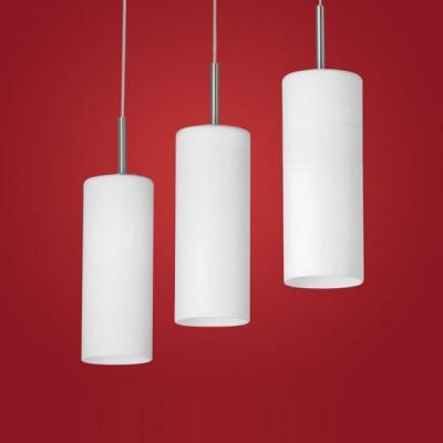 Eglo TROY 3 85978 Светильник подвеснойТройные<br>Австрийское качество модели светильника Eglo 85978 не оставит равнодушным каждого купившего! Матовое закаленное стекло(пр-во Чехия), Никелированный корпус, Класс изоляции 2 (двойная изоляция), IP 20, освещенность 2418 lm ,L=720B=105Н=1100,3X60W,E27.<br><br>S освещ. до, м2: 20<br>Тип лампы: накаливания / энергосбережения / LED-светодиодная<br>Тип цоколя: E27<br>Цвет арматуры: серый<br>Количество ламп: 3<br>Ширина, мм: 105<br>Размеры основания, мм: 0<br>Длина, мм: 720<br>Высота, мм: 1100<br>Оттенок (цвет): белое покрытие<br>MAX мощность ламп, Вт: 2<br>Общая мощность, Вт: 3X60W