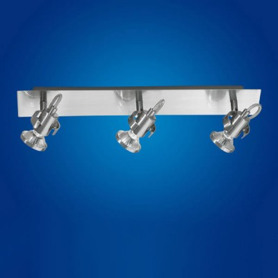Eglo Tukon 1 86018 Светильник поворотный спотТройные<br>Светильники-споты – это оригинальные изделия с современным дизайном. Они позволяют не ограничивать свою фантазию при выборе освещения для интерьера. Такие модели обеспечивают достаточно качественный свет. Благодаря компактным размерам Вы можете использовать несколько спотов для одного помещения. <br>Интернет-магазин «Светодом» предлагает необычный светильник-спот Eglo 86018 по привлекательной цене. Эта модель станет отличным дополнением к люстре, выполненной в том же стиле. Перед оформлением заказа изучите характеристики изделия. <br>Купить светильник-спот Eglo 86018 в нашем онлайн-магазине Вы можете либо с помощью формы на сайте, либо по указанным выше телефонам. Обратите внимание, что у нас склады не только в Москве и Екатеринбурге, но и других городах России.<br><br>S освещ. до, м2: 10<br>Тип лампы: галогенная / LED-светодиодная<br>Тип цоколя: GU10<br>Цвет арматуры: серый<br>Количество ламп: 3<br>Ширина, мм: 70<br>Высота, мм: 460<br>MAX мощность ламп, Вт: 50