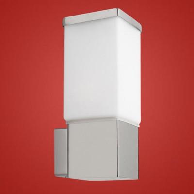 Eglo CALGARY 86387 светильник уличныйНастенные<br>Парковые светильники EGLO CALGARY (IP23) — светильники для наружного освещения. Степень защиты IP23 — защита от твердых тел gt  12 мм, защита от дождя. Плафоны из высококачественного матового стекла, арматура из нержавеющей стали. Светильники рассчитаны на обычную лампу E27 60W max. Цвет: нержавеющая сталь (stainless steel).<br><br>Тип цоколя: E27<br>MAX мощность ламп, Вт: 60<br>Размеры основания, мм: 90*90<br>Длина, мм: 100<br>Расстояние от стены, мм: 120<br>Высота, мм: 270<br>Оттенок (цвет): белый<br>Цвет арматуры: серебристый<br>Общая мощность, Вт: 2