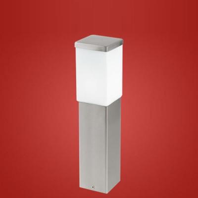 Eglo CALGARY 86388 светильник уличныйОдиночные столбы<br>Парковые светильники EGLO CALGARY (IP23) — светильники для наружного освещения. Степень защиты IP23 — защита от твердых тел gt;  12 мм, защита от дождя. Плафоны из высококачественного матового стекла, арматура из нержавеющей стали. Светильники рассчитаны на обычную лампу E27 60W max. Цвет: нержавеющая сталь (stainless steel).<br><br>Тип цоколя: E27<br>Ширина, мм: 100<br>MAX мощность ламп, Вт: 60<br>Размеры основания, мм: 90*90<br>Длина, мм: 100<br>Высота, мм: 435<br>Оттенок (цвет): белый<br>Цвет арматуры: серебристый<br>Общая мощность, Вт: 2