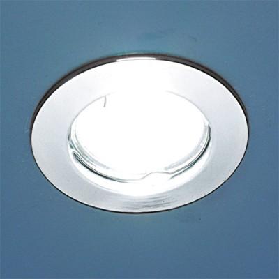 863 MR16 CH хром Электростандарт Точечный светильникКруглые<br>Лампа: MR16 G5.3 max 50 Вт Диаметр: ? 80 мм Высота внутренней части: ? 21 мм Высота внешней части: ? 3 мм Монтажное отверстие: ? 60 мм Гарантия: 2 года<br><br>S освещ. до, м2: 3<br>Тип лампы: галогенная<br>Тип цоколя: gu5.3<br>Цвет арматуры: серебристый<br>Количество ламп: 1<br>Диаметр, мм мм: 78<br>Диаметр врезного отверстия, мм: 60<br>Оттенок (цвет): серебристый<br>MAX мощность ламп, Вт: 50