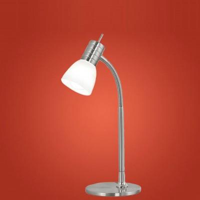 Eglo PRINCE 1 86429 Офисная настольная лампаОфисные<br>Настольная лампа – это не просто источник дополнительного освещения, но и оригинальный элемент декора. Его можно установить в спальне, гостиной, кабинете и других комнатах. Интернет-магазин «Светодом» предлагает настольные лампы разных стилей по доступным ценам. Благодаря большому ассортименту Вы обязательно найдете в нашем каталоге именно ту модель, которую искали.   Настольная лампа Eglo 86429 – прекрасный вариант для завершения интерьера. Ее можно включить одновременно с люстрой для более яркого освещения или без нее для создания уютной атмосферы, настраивающей на отдых.   Купить настольную лампу Eglo 86429 Вы можете с помощью виртуальной «Корзины» или по контактным номерам, указанным на сайте.<br><br>S освещ. до, м2: 2<br>Тип лампы: накал-я - энергосбер-я<br>Тип цоколя: E14<br>Цвет арматуры: серый<br>Количество ламп: 1<br>Размеры основания, мм: 125<br>Высота, мм: 370<br>Оттенок (цвет): белый<br>MAX мощность ламп, Вт: 2<br>Общая мощность, Вт: 1X40W