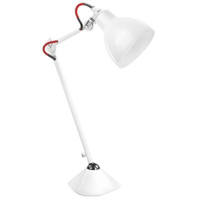 Настольная лампа Lightstar 865916 Loftнастольные лампы лофт и ретро стиля<br>Высота min-max (см): 35,2-73,6; Ширина (см): 13,5; Вес (кг): 2,9; Кол-во ламп: 1; Мощность max (W): 40; Цвет основания/цвет стекла или абажура: White/Glass shade;