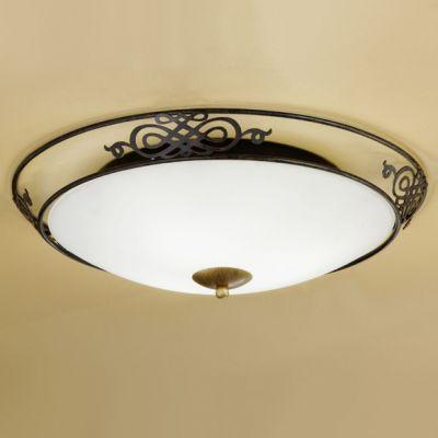 Eglo MESTRE 86713 Настенно-потолочный светильникКруглые<br>Австрийское качество модели светильника Eglo 86713 не оставит равнодушным каждого купившего! Матовое закаленное стекло(пр-во Чехия), металический декоративный корпус цвета античной бронзы, металический декоративный элемент цвета матового золота, Класс изоляции 1, IP 20.,D=475,3X60W,E27.<br><br>S освещ. до, м2: 12<br>Тип лампы: накаливания / энергосбережения / LED-светодиодная<br>Тип цоколя: E27<br>Количество ламп: 3<br>MAX мощность ламп, Вт: 2<br>Диаметр, мм мм: 475<br>Размеры основания, мм: 0<br>Расстояние от стены, мм: 137<br>Оттенок (цвет): бежевый<br>Цвет арматуры: коричневый<br>Общая мощность, Вт: 3X60W