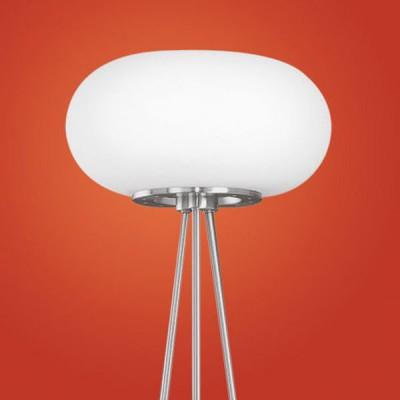 Eglo OPTICA 86817 Торшер напольныйСовременные<br>Австрийское качество модели светильника Eglo 86817 не оставит равнодушным каждого купившего! Матовое закаленное стекло(пр-во Чехия), Никелированный матовый корпус и декор, выключателем, Класс изоляции 2 (двойная изоляция), IP 20, освещенность 1612 lm ,Н=1570D=350,2X60W,E27.<br><br>S освещ. до, м2: 8<br>Тип лампы: накаливания / энергосбережения / LED-светодиодная<br>Тип цоколя: E27<br>Цвет арматуры: серый<br>Количество ламп: 2<br>Диаметр, мм мм: 350<br>Размеры основания, мм: 0<br>Высота, мм: 1570<br>Оттенок (цвет): белый<br>MAX мощность ламп, Вт: 2<br>Общая мощность, Вт: 2X60W