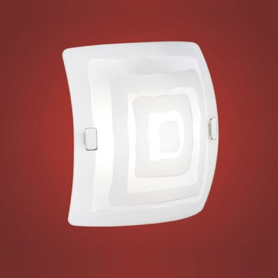 Eglo BORGO 1 86851 Настенно-потолочные светильникиКвадратные<br>Настенно потолочный светильник Eglo (Эгло) 86851  подходит как для установки в вертикальном положении - на стены, так и для установки в горизонтальном - на потолок. Для установки настенно потолочных светильников на натяжной потолок необходимо использовать светодиодные лампы LED, которые экономнее ламп Ильича (накаливания) в 10 раз, выделяют мало тепла и не дадут расплавиться Вашему потолку.<br><br>S освещ. до, м2: 4<br>Тип лампы: накаливания / энергосбережения / LED-светодиодная<br>Тип цоколя: E27<br>Количество ламп: 1<br>MAX мощность ламп, Вт: 2<br>Размеры основания, мм: 0<br>Длина, мм: 240<br>Высота, мм: 240<br>Оттенок (цвет): белый с декором<br>Общая мощность, Вт: 1X60W