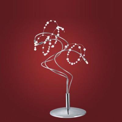 Eglo FIGARO 86907 настольная лампаХрустальные<br>Настольная лампа – это не просто источник дополнительного освещения, но и оригинальный элемент декора. Его можно установить в спальне, гостиной, кабинете и других комнатах. Интернет-магазин «Светодом» предлагает настольные лампы разных стилей по доступным ценам. Благодаря большому ассортименту Вы обязательно найдете в нашем каталоге именно ту модель, которую искали.   Настольная лампа Eglo 86907 – прекрасный вариант для завершения интерьера. Ее можно включить одновременно с люстрой для более яркого освещения или без нее для создания уютной атмосферы, настраивающей на отдых.   Купить настольную лампу Eglo 86907 Вы можете с помощью виртуальной «Корзины» или по контактным номерам, указанным на сайте.<br><br>S освещ. до, м2: 4<br>Тип лампы: галогенная / LED-светодиодная<br>Тип цоколя: G4<br>Количество ламп: 3<br>MAX мощность ламп, Вт: 20<br>Диаметр, мм мм: 300<br>Высота, мм: 400<br>Цвет арматуры: серебристый