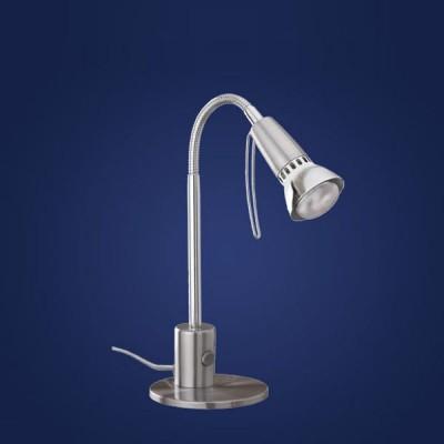 Eglo FOX 1 86955 Офисная настольная лампаОфисные<br>Настольная лампа – это не просто источник дополнительного освещения, но и оригинальный элемент декора. Его можно установить в спальне, гостиной, кабинете и других комнатах. Интернет-магазин «Светодом» предлагает настольные лампы разных стилей по доступным ценам. Благодаря большому ассортименту Вы обязательно найдете в нашем каталоге именно ту модель, которую искали.   Настольная лампа Eglo 86955 – прекрасный вариант для завершения интерьера. Ее можно включить одновременно с люстрой для более яркого освещения или без нее для создания уютной атмосферы, настраивающей на отдых.   Купить настольную лампу Eglo 86955 Вы можете с помощью виртуальной «Корзины» или по контактным номерам, указанным на сайте.<br><br>S освещ. до, м2: 2<br>Тип лампы: накал-я - энергосбер-я<br>Тип цоколя: E14<br>Количество ламп: 1<br>MAX мощность ламп, Вт: 2<br>Размеры основания, мм: 123<br>Высота, мм: 330<br>Цвет арматуры: серый<br>Общая мощность, Вт: 1X40W