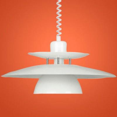 Eglo BRENDA 87055 Светильник подвеснойДля кухни<br>Австрийское качество модели светильника Eglo 87055 не оставит равнодушным каждого купившего! Основание сталь с защитно/декративным покрытием белого цвета с хромированными вставками. Класс изоляции 2 (двойная изоляция до лампы), IP 20, освещенность 1420lm ,Н=1500D=430,1X100W,E27.<br><br>S освещ. до, м2: 6<br>Тип лампы: накал-я - энергосбер-я<br>Тип цоколя: E27<br>Количество ламп: 1<br>MAX мощность ламп, Вт: 2<br>Диаметр, мм мм: 430<br>Размеры основания, мм: 0<br>Высота, мм: 1100<br>Оттенок (цвет): белый<br>Цвет арматуры: белый<br>Общая мощность, Вт: 1X60W