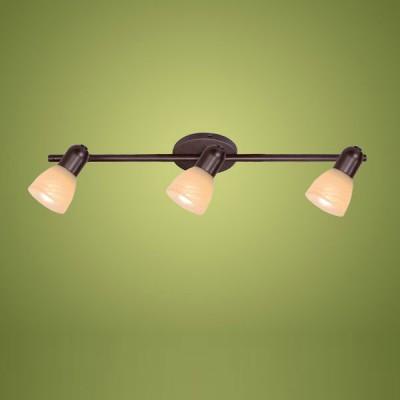 Eglo Dakar 87081 Светильник поворотный спотТройные<br>Австрийское качество модели светильника Eglo 87081 не оставит равнодушным каждого купившего! Закаленное алебастровое стекло коньячного цвета (пр-во Чехия) , основание сталь с защитно декоративным покрыием коричневый антик , Класс изоляции 2 (двойная изоляция от вилки до лампы), IP 20, освещенность 1410 lm ,B=65L=535,3X40W,Е14.<br><br>S освещ. до, м2: 8<br>Тип лампы: накал-я - энергосбер-я<br>Тип цоколя: E14<br>Количество ламп: 3<br>Ширина, мм: 65<br>MAX мощность ламп, Вт: 40<br>Высота, мм: 535<br>Цвет арматуры: коричневый