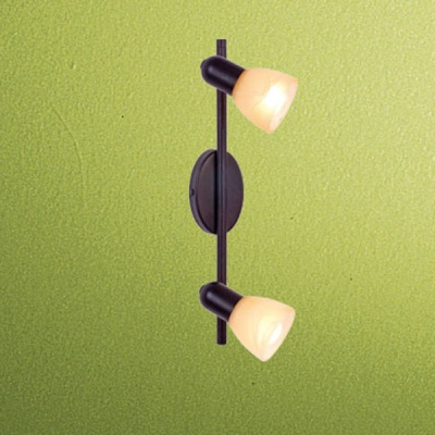 Eglo Dakar 87079 Светильник поворотный спотДвойные<br>Австрийское качество модели светильника Eglo 87079 не оставит равнодушным каждого купившего! Закаленное алебастровое стекло коньячного цвета (пр-во Чехия) , основание сталь с защитно декоративным покрыием коричневый антик , Класс изоляции 2 (двойная изоляция от вилки до лампы), IP 20, освещенность 940 lm ,B=80L=285,1X40W,Е14.<br><br>S освещ. до, м2: 5<br>Тип лампы: накал-я - энергосбер-я<br>Тип цоколя: E14<br>Количество ламп: 2<br>Ширина, мм: 65<br>MAX мощность ламп, Вт: 40<br>Высота, мм: 375<br>Цвет арматуры: коричневый