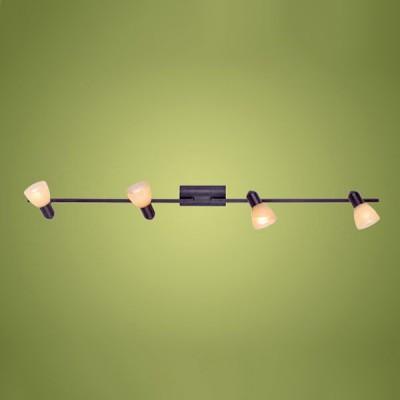 Eglo Dakar 87082 Светильник поворотный спотС 4 лампами<br>Австрийское качество модели светильника Eglo 87082 не оставит равнодушным каждого купившего! Закаленное алебастровое стекло коньячного цвета (пр-во Чехия) , основание сталь с защитно декоративным покрыием коричневый антик , Класс изоляции 2 (двойная изоляция от вилки до лампы), IP 20, освещенность 1410 lm ,B=65L=535,3X40W,Е14.<br><br>S освещ. до, м2: 10<br>Тип лампы: накал-я - энергосбер-я<br>Тип цоколя: E14<br>Количество ламп: 4<br>Ширина, мм: 65<br>MAX мощность ламп, Вт: 40<br>Высота, мм: 1055<br>Цвет арматуры: коричневый