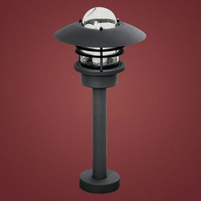 Eglo OTTAWA 87135 Уличный светильникОдиночные фонари<br>Парковые светильники EGLO OTTAWA (IP44) — светильники для наружного освещения. Степень защиты IP44 — защита от твердых тел gt  1 мм, защита от капель и брызг. В серию входит настенный светильник 2 с датчиком движения. Плафоны из высококачественного прозрачного стекла, арматура из нержавеющей стали. Светильники рассчитаны на обычную лампу E27 60W max. Цвет: белый (white), антрацит (anthracite).<br><br>Диаметр, мм мм: 120/240<br>Высота, мм: 495