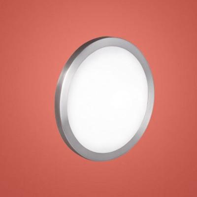 Eglo AREZZO 87328 Настенно-потолочный светильникКруглые<br>Австрийское качество модели светильника Eglo 87328 не оставит равнодушным каждого купившего! Матовое закаленное стекло(пр-во Чехия), Никель-матовый корпус, Класс изоляции 2 (двойная изоляция), IP 20, Экологически безопасные технологии.,D=280,1X60W,E27.<br><br>S освещ. до, м2: 4<br>Тип лампы: накаливания / энергосбережения / LED-светодиодная<br>Тип цоколя: E27<br>Цвет арматуры: серый<br>Количество ламп: 1<br>Диаметр, мм мм: 280<br>Размеры основания, мм: 0<br>Расстояние от стены, мм: 78<br>Оттенок (цвет): белый<br>MAX мощность ламп, Вт: 2<br>Общая мощность, Вт: 1X60W