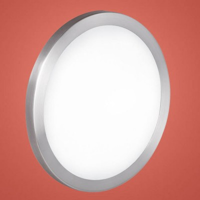 Eglo AREZZO 87331 Настенно-потолочный светильникКруглые<br>Австрийское качество модели светильника Eglo 87331 не оставит равнодушным каждого купившего! Матовое закаленное стекло(пр-во Чехия), Никель-матовый корпус, Класс изоляции 2 (двойная изоляция), IP 20, Экологически безопасные технологии.,D=425,2X60W,E27.<br><br>S освещ. до, м2: 8<br>Тип лампы: накаливания / энергосбережения / LED-светодиодная<br>Тип цоколя: E27<br>Цвет арматуры: серый<br>Количество ламп: 2<br>Диаметр, мм мм: 425<br>Размеры основания, мм: 0<br>Расстояние от стены, мм: 95<br>Оттенок (цвет): белый<br>MAX мощность ламп, Вт: 2<br>Общая мощность, Вт: 2X60W