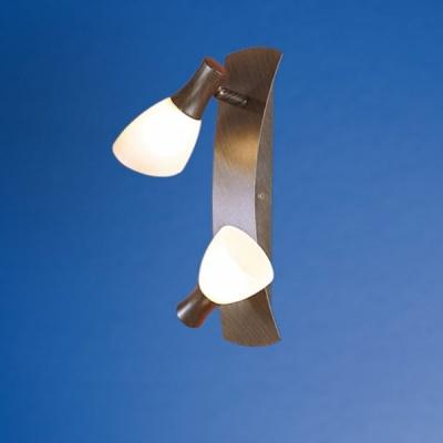Eglo ONA 1 87362 Светильник поворотный спотДвойные<br>Австрийское качество модели светильника Eglo 87362 не оставит равнодушным каждого купившего! Закаленное стекло цвета шампань (пр-во Чехия) , основание сталь с защитно декоративным покрыием коричневый антик , Класс изоляции 2 (двойная изоляция от вилки до лампы), IP 20, освещенность 940 lm ,B=285L=80,2X33W,G9.<br><br>S освещ. до, м2: 5<br>Тип лампы: галогенная / LED-светодиодная<br>Тип цоколя: G9<br>Цвет арматуры: коричневый<br>Количество ламп: 2<br>Ширина, мм: 80<br>Размеры основания, мм: 0<br>Длина, мм: 285<br>Оттенок (цвет): шампань<br>MAX мощность ламп, Вт: 2<br>Общая мощность, Вт: 2X33W