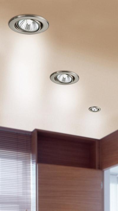 Eglo Einbauspot 87380 точечный встраиваемый светильникКруглые<br>Австрийское качество модели светильника Eglo 87380 не оставит равнодушным каждого купившего! Набор из 3х светильников. Стальной корпус, Класс изоляции 2(двойная изоляция), IP 20, Экологически безопасные технологии. Освещенность 740 lm , D=85, ET=70, 1X50W,GU10.<br><br>S освещ. до, м2: 10<br>Тип лампы: галогенная<br>Тип цоколя: GU10<br>Количество ламп: 3<br>MAX мощность ламп, Вт: 50<br>Диаметр, мм мм: 85<br>Цвет арматуры: серебристый
