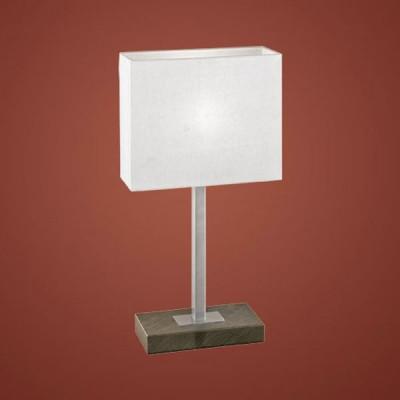 Eglo PUEBLO 1 87599 Настольная лампаКлассические<br>Австрийское качество модели светильника Eglo 87599 не оставит равнодушным каждого купившего! Основание матовая никилерованная , текстильный абажур с защитным покрытием белого цвета, Класс изоляции 2 (плоская вилка, двойная изоляция от вилки до лампы), сенсорный выключатель, IP 20, освещенность 860 lm Н=480,L=200.<br><br>S освещ. до, м2: 4<br>Тип лампы: накал-я - энергосбер-я<br>Тип цоколя: E14<br>Цвет арматуры: коричневый<br>Количество ламп: 1<br>Ширина, мм: 210<br>Размеры основания, мм: 200 / 100<br>Длина, мм: 260<br>Высота, мм: 480<br>Оттенок (цвет): бежевый<br>MAX мощность ламп, Вт: 2<br>Общая мощность, Вт: 1X60W
