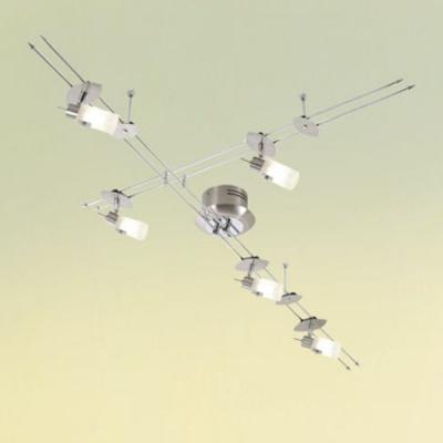 Eglo DRIVE 87607 Галогенная системаПотолочные<br>Австрийское качество модели светильника Eglo 87607 не оставит равнодушным каждого купившего! Плафоны из матового закаленного стекла (пр-во Чехия), Стальной никилерованный корпус с напраляющими , Класс изоляции 2 (двойная изоляция), IP 20, Экологически безопасные технологии. Освещенность 2450 lm. ,L=1845,4X35W,G6,35. Купить его можно как добавив в корзину, так и позвонив нам в офис Екатеринбурга, Москвы, Спб, Новосибирска, Омска, Перми, Тюмени или любого другого города России.<br><br>Установка на натяжной потолок: Ограничено<br>S освещ. до, м2: 11<br>Крепление: Планка<br>Тип лампы: галогенная<br>Тип цоколя: GY6,35/12V<br>Количество ламп: 5<br>Ширина, мм: 1845/920<br>MAX мощность ламп, Вт: 35<br>Цвет арматуры: серый