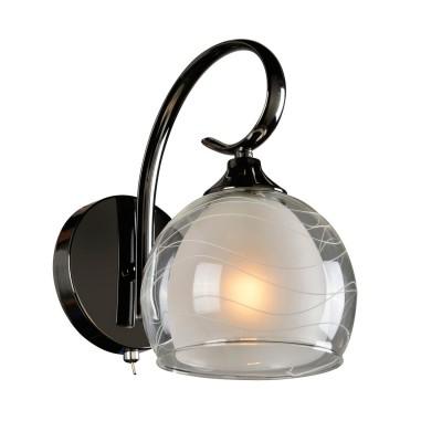 Светильник настенный бра Idlamp 877/1A-Darkchrome MerinellaСовременные<br><br><br>Крепление: Настенные<br>Тип цоколя: E27<br>Количество ламп: 1<br>Ширина, мм: 160<br>Длина, мм: 230<br>Высота, мм: 160<br>MAX мощность ламп, Вт: 60